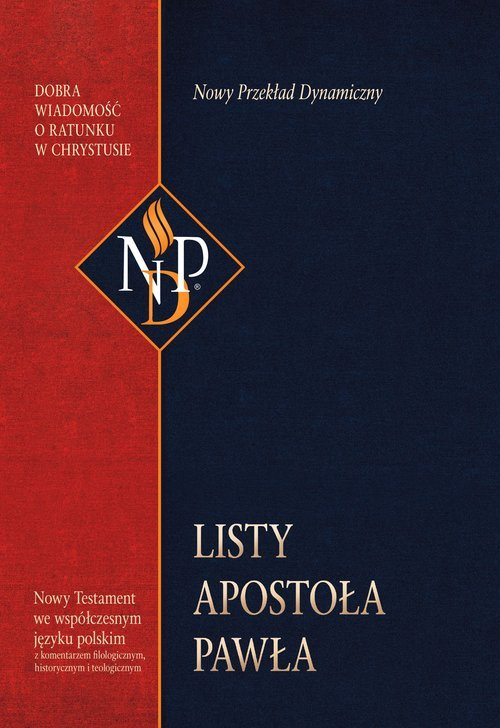 Listy Apostoła Pawła. Nowy Przekład - okładka książki