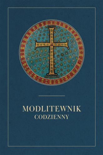 Modlitewnik codzienny (granatowy) - okładka książki