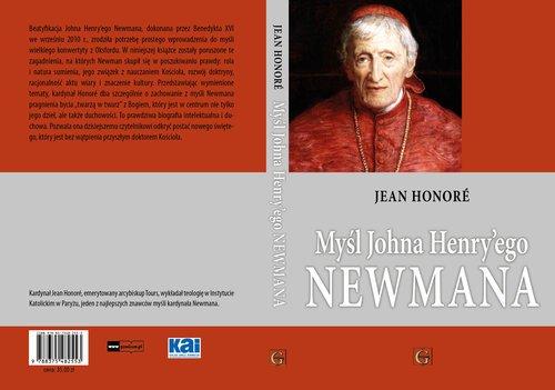 Myśl Johna Henry ego Newmana - okładka książki