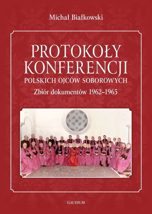 Protokoły konferencji polskich - okładka książki