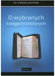 O wybranych księgach biblijnych - okładka książki