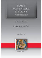 Księga Sędziów. Rozdziały 6-12. - okładka książki
