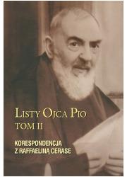 Listy Ojca Pio. Tom 2. Korespondencja - okładka książki