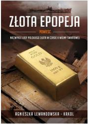 Złota epopeja - okładka książki