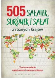 505 sałatek, surówek i sałat - okładka książki