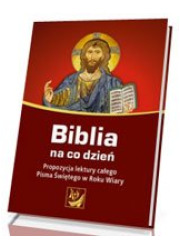 Biblia na co dzień. Propozycja - okładka książki
