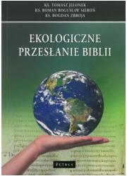 Ekologiczne przesłanie Biblii - okładka książki