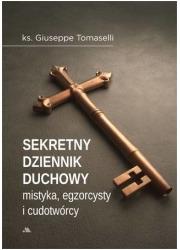 Sekretny dziennik duchowy mistyka, - okładka książki