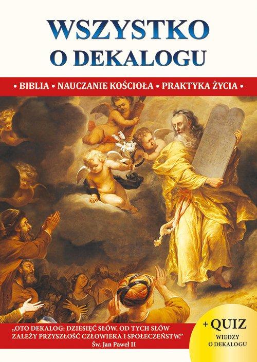 Wszystko o dekalogu - okładka książki