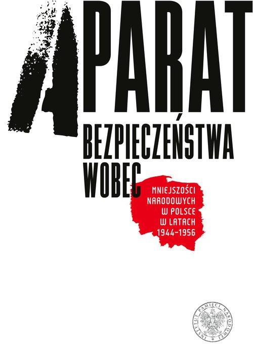 Aparat bezpieczeństwa wobec mniejszości - okładka książki