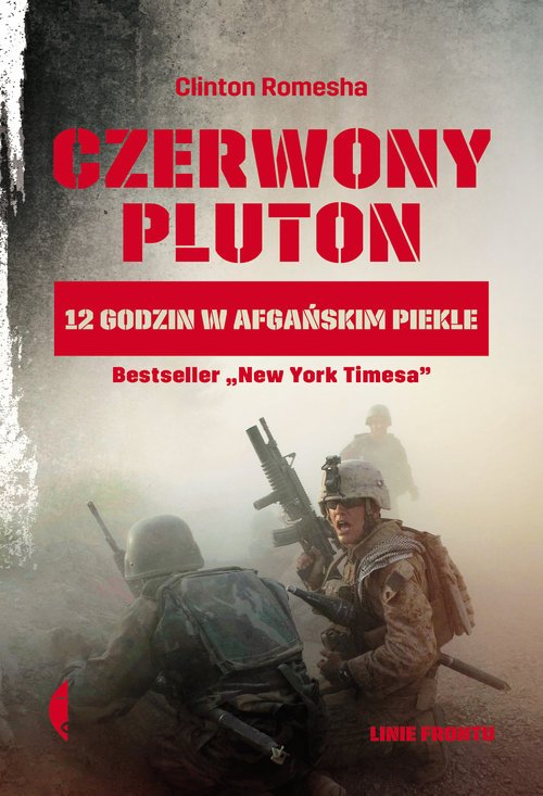 Czerwony pluton. 12 godzin w afgańskim - okładka książki
