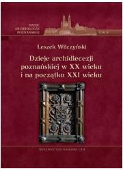 Dzieje archidiecezji poznańskiej - okładka książki