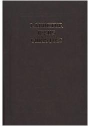Laudetur Iesus Christus. Modlitewnik - okładka książki