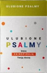 Ulubione psalmy (pudełko) - okładka książki
