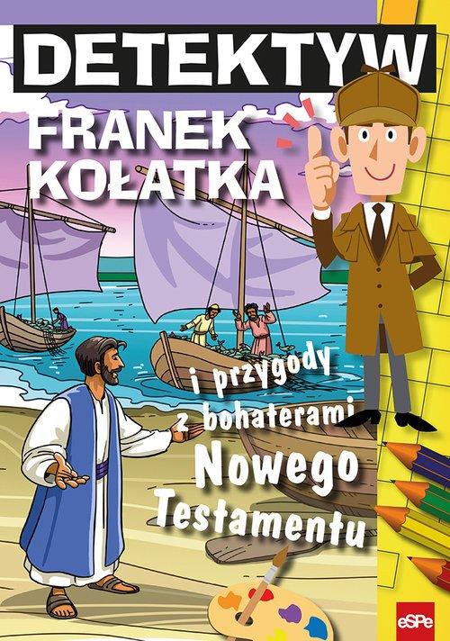 Detektyw Franek Kołatka i przygody - okładka książki