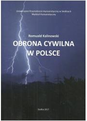 Obrona cywilna w Polsce - okładka książki