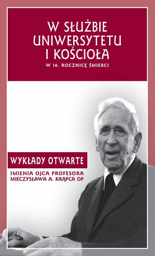 W służbie uniwersytetu i Kościoła - okładka książki