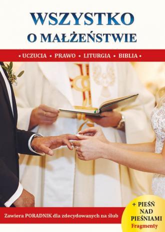 Wszystko o małżeństwie - okładka książki