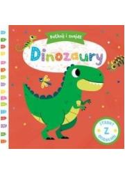 Dotknij i znajdź. Dinozaury - okładka książki