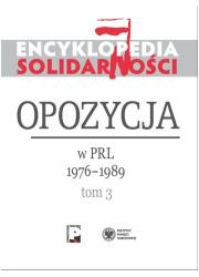 Encyklopedia Solidarności. Tom - okładka książki