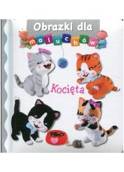 Kocięta. Obrazki dla maluchów - okładka książki