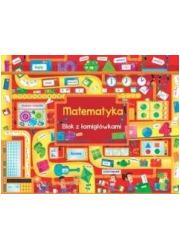 Matematyka. Blok z łamigłówkami - okładka książki