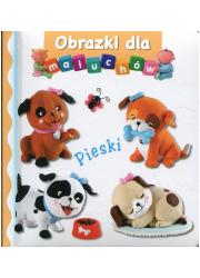 Pieski. Obrazki dla maluchów - okładka książki