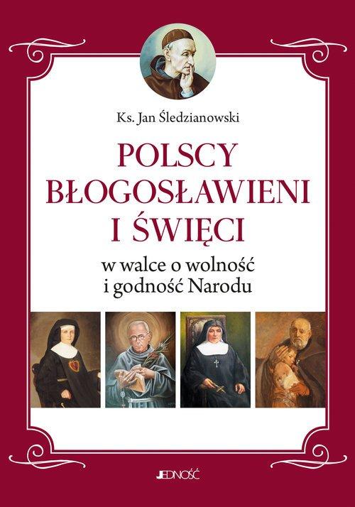 Polscy Błogosławieni i święci w - okładka książki