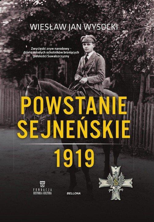 Powstanie sejneńskie 1919 - okładka książki