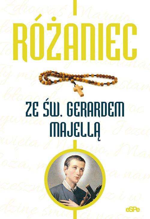 Różaniec ze św. Gerardem Majellą - okładka książki
