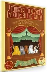 Teatrzyki do muzyki na co dzień - okładka książki