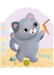 Urocze zwierzaki. Kotek - okładka książki