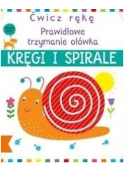 Ćwicz rękę. Kręgi i spirale - okładka książki