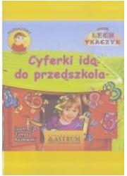 Cyferki idą do przedszkola + audiobook - okładka książki