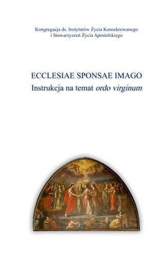 Ecclesiae Sponsae Imago. Instrukcja - okładka książki