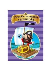 Pirackie zmagania z gramatyką - okładka książki