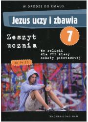 Religia. Jezus uczy i zbawia. Ćwiczenia - okładka podręcznika
