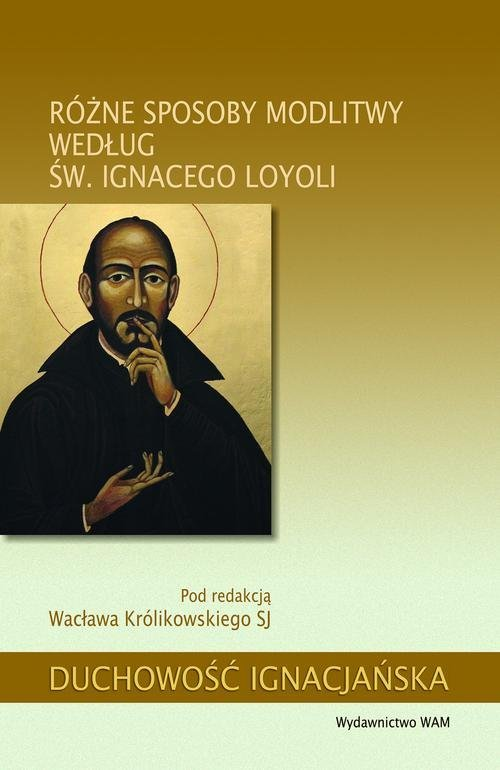 Różne sposoby modlitwy według św. - okładka książki