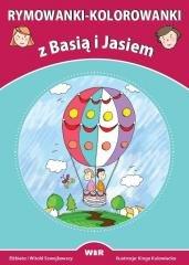 Rymowanki-kolorowanki z Basią i - okładka książki