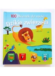 100 okienek do nauki. Dzikie Zwierzęta - okładka książki