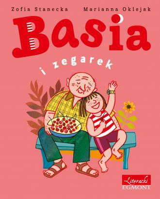 Basia i zegarek - okładka książki