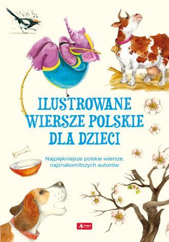 Ilustrowane wiersze polskie dla - okładka książki