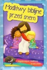 Modlitwy biblijne przed snem - okładka książki