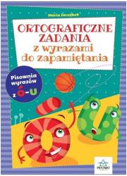 Ortograficzne zadania z wyrazami - okładka książki