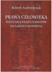 Prawa człowieka podstawą prawa - okładka książki