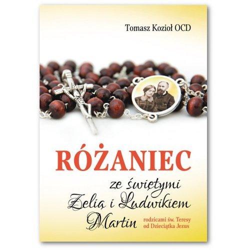 Różaniec ze świętymi Zelią i Ludwikiem - okładka książki