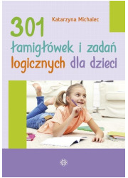 301 łamigłówek i zadań logicznych - okładka książki