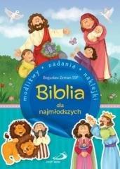 Biblia dla najmłodszych. Modlitwy, - okładka książki