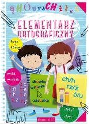 Elementarz ortograficzny - okładka książki