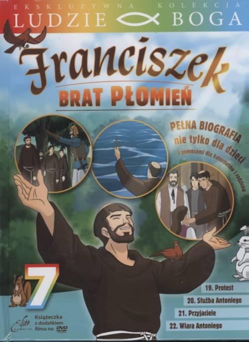 Franciszek. Brat Płomień 7 (DVD) - okładka filmu